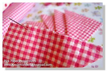 Step three-stitch squares