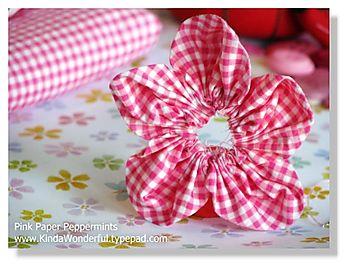 Step five-attach petals