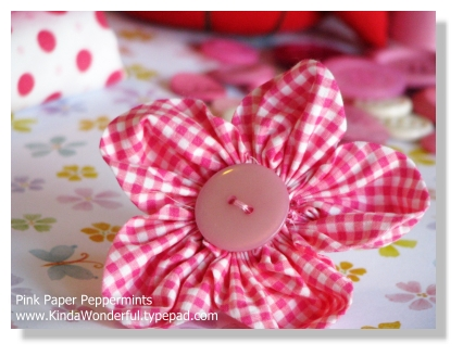 Rounded petal fabric flowers 31 crafty flowers in 31 days day 23 rounded petal fabric flowers 31 crafty flowers in 31 days day 23 pink paper peppermints she works with her hands in delight mightylinksfo