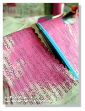 Step step-five cut decorative strip