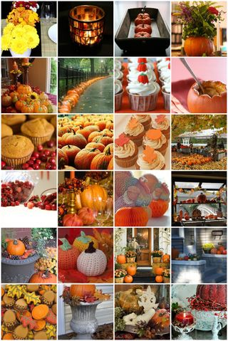 And here is more fall decorating inspiration for you