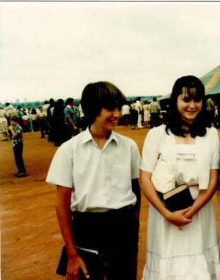 Melissa and Matt at Groundbreaking