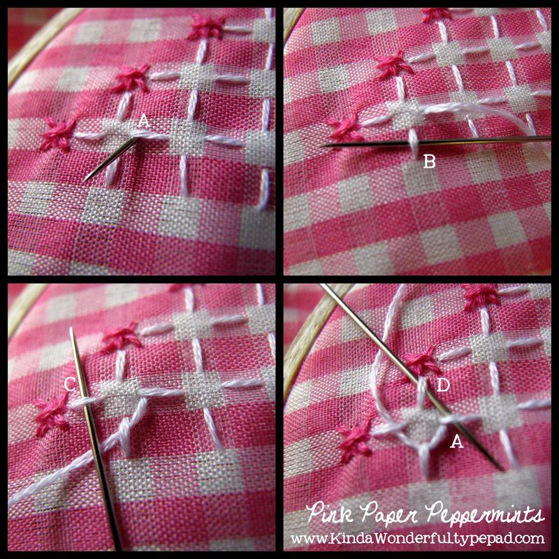 Lace stitch2