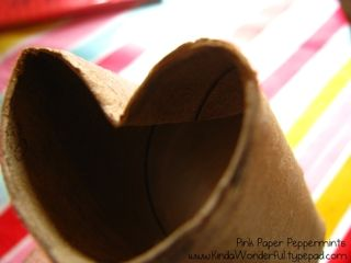 Heart Shaped Paper Towel Tube Recycle
