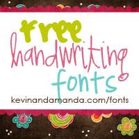 Freehandwritingfonts