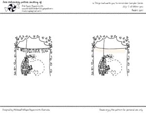 Free embroidery pattern i will deliver you thumb