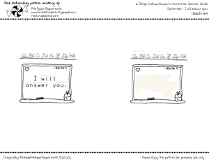 September embroidery pattern th