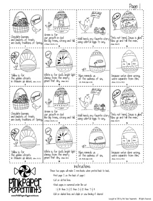 photograph about Resurrection Egg Story Printable named Inventive Easter Strategies Tips + A printable \