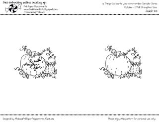 Free Embroidery Pattern Pumpkin Patch