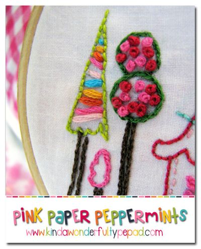Free Embroidery Pattern Series - 12 Things God Wants You To Remember -- November -- I Will Be With You  via Pink Paper Peppermints @Kindawonderful.typepad.com  ♥