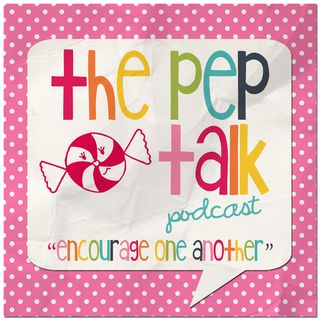 ThePepTalkPodcast at Pink Paper Peppermints.com
