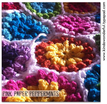 Summer Crochet Hexagons via Pink Paper Peppermints