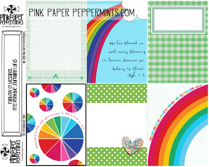 picture relating to Free Printable Journal Cards titled Greater Than Privileged - Rainbow Statements Journaling Playing cards