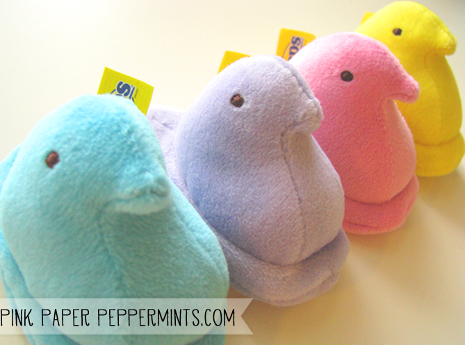 Plush Easter Peeps!  So cute!