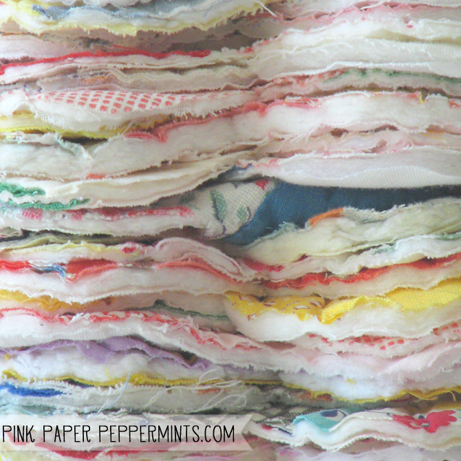 Vintage cutter quilt pieces, report on the quilt show by Melissa at Pink Paper Peppermints blog