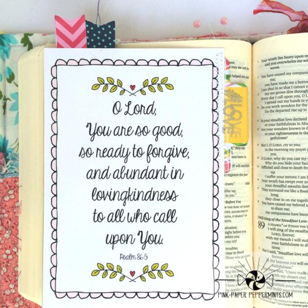 graphic regarding Free Printable Scripture Art named Blog site Variations + Scripture Artwork Journaling Card Printables