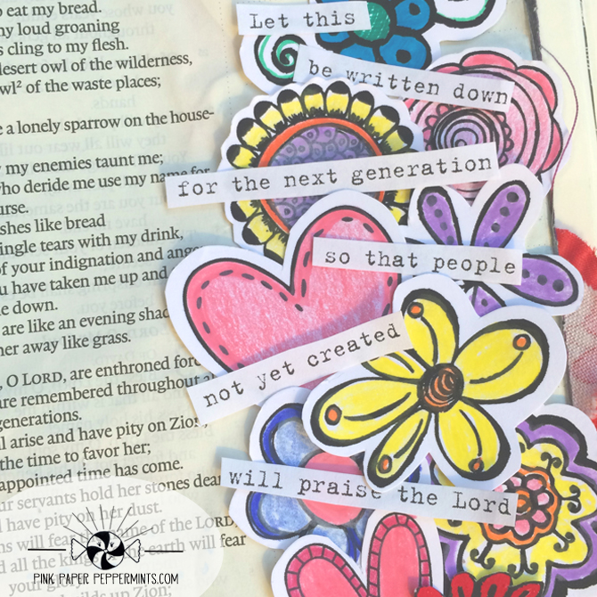This Is A Free Workshop Series On Art Journaling Your Faith Lesson 8