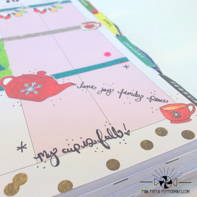 Tutorial on how to use digital scrapbooking  supplies on your planner pages and journaling bibles!