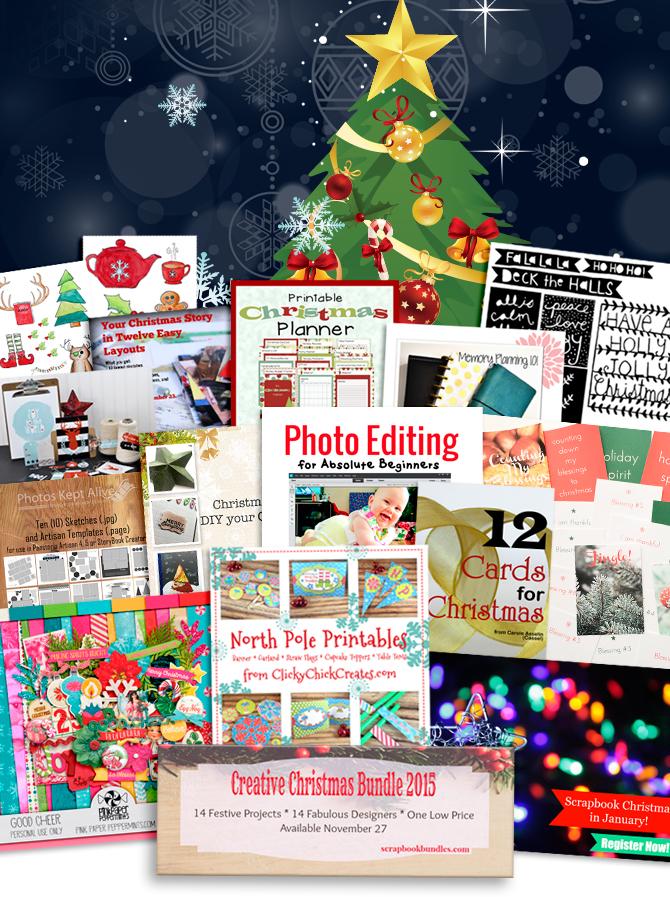 Get Creative this Christmas with the Creative Christmas bundle!