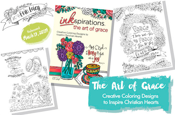 The Art of Grace Coloring book