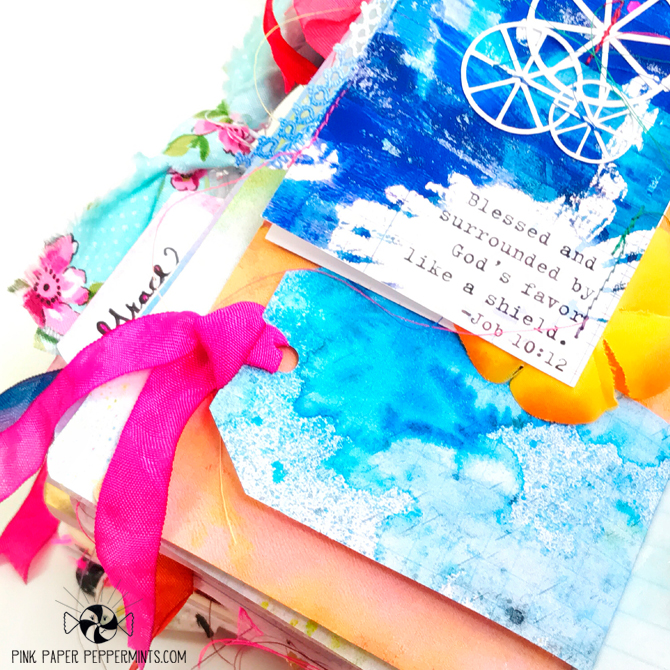 Printable Traveler's Notebook Tag inserts with scripture Verses!