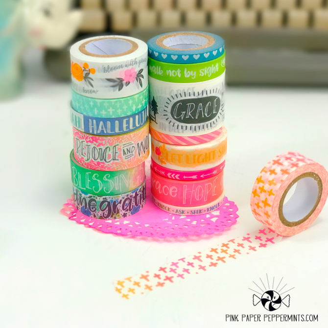 Super cute Bible Journaling washi tape! Click for link!