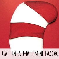 DIY Dr. Seuss/Cat in the Hat Mini Book Pattern and Tutorial!