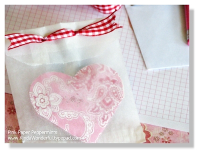 DIY Foldable Heart Valentine  from Melissa at PinkPaperPeppermints.com