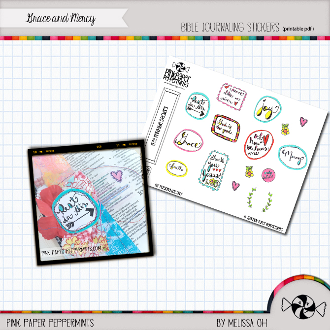 Printable Bible Journaling Stickers For You! - Pink Paper
