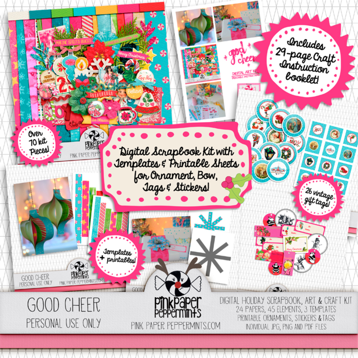 Join us for a fun Creative Christmas blog hop! Tutorials, Freebies and a chance to win your own copy of the Creative Christmas Bundle! Woo-hoo!