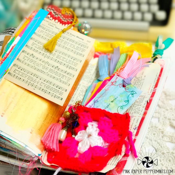 Faith art journal and prayer book