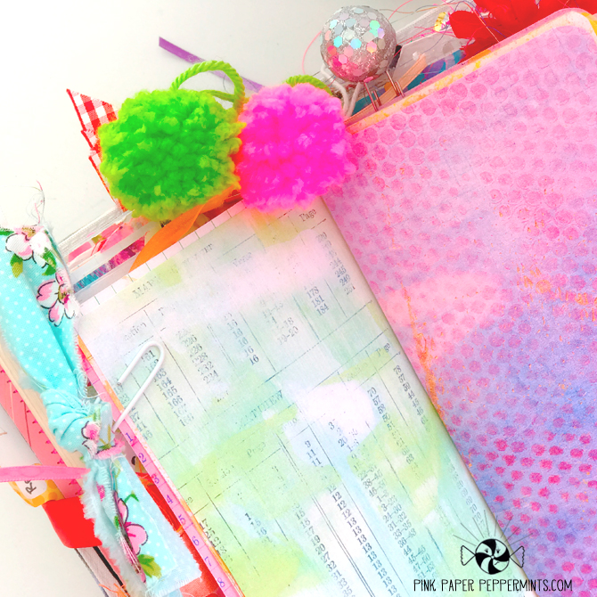 Faith art journaling in a printable Traveler's Notebook insert!
