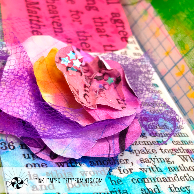 Quick diy paper flower tutorial art journal supply shopping and a quick easy diy layered paper flower tutorial for bible journaling this one is mightylinksfo