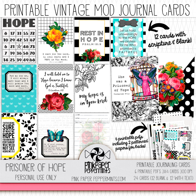 Printable journaling cards with bible verses! ♥