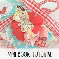 Free Valentine's Day Mini Book Tutorial and Template from Melissa at PinkPaperPeppermints.com