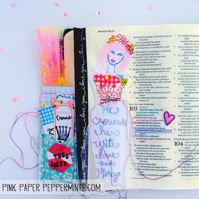 Hope Die Cut Paper Pieces Love Faith Illustrated Faith