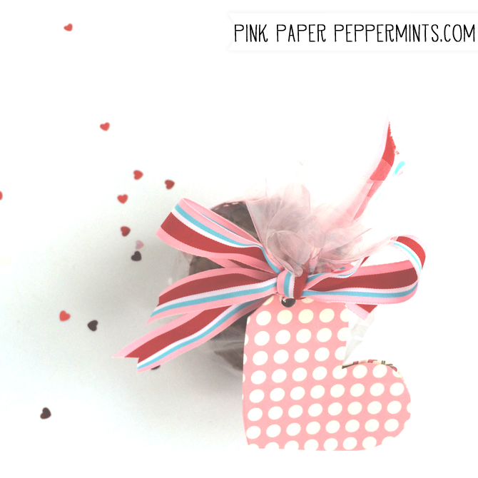 Free Printable Heart Tag from Melissa at PinkPaperPeppermints.com
