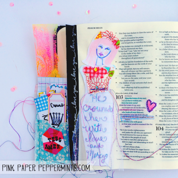 Free Bible Art Journaling Printables And Tutorials The Ultimate List Pink Paper Peppermints She Works With Her Hands In Delight