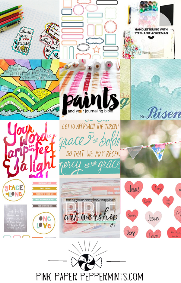 picture about Free Printable Scripture Word Art named Cost-free Bible Artwork Journaling Printables and Tutorials - The