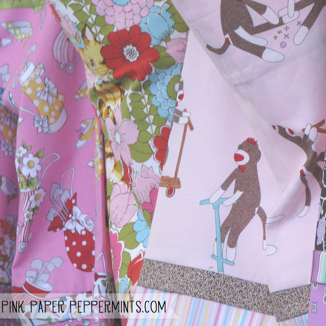Pillowcase kits, report on the quilt show at Pink Paper Peppermints