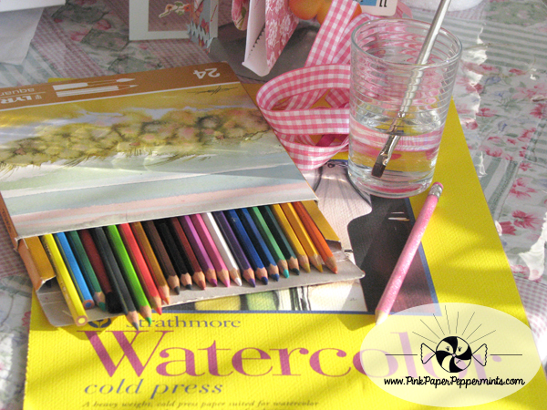 Get your supplies read for our Free Summer Faith Art Journaling Workshop!