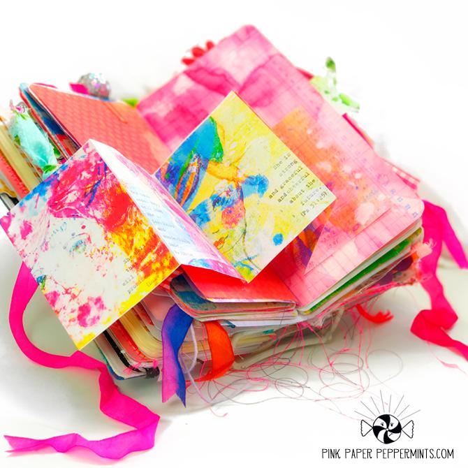 Fun bible junk journaling mini book tutorial!