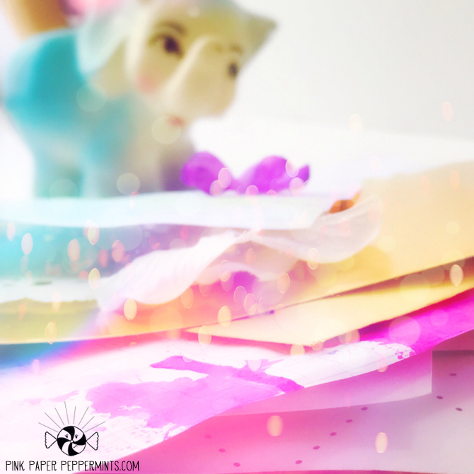 Paper stacks make me happy! ♥♥♥ Pink Paper Peppermints blog