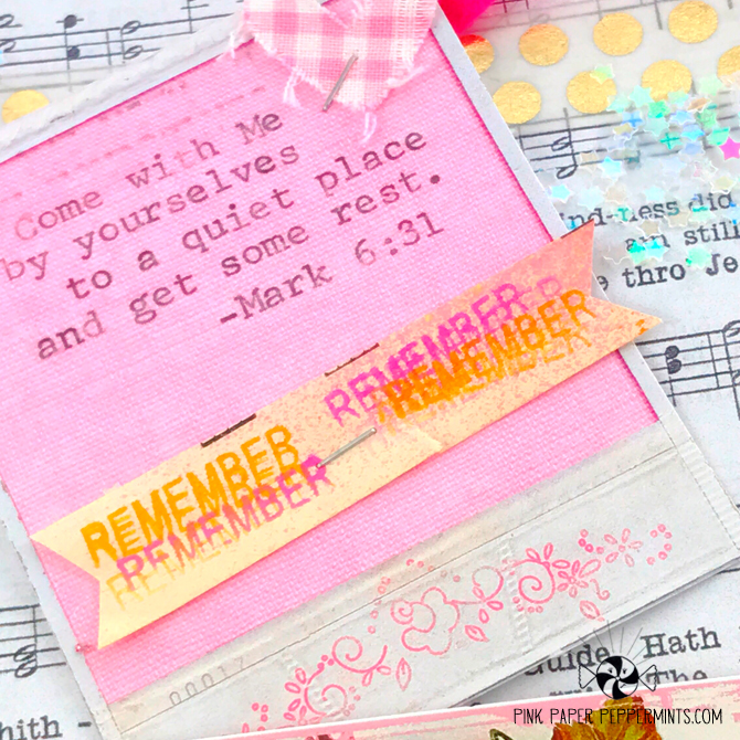 Fun video with a bible journaling stamping tip!