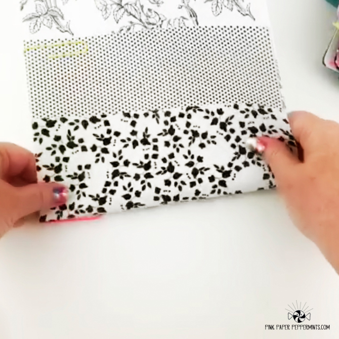 DIY 3-tier foldable pocket tutorial for traveler's notebooks!