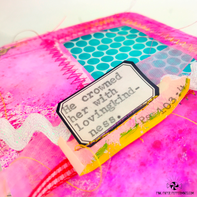 Mini Bible Journaling - Junk Journal for a swap