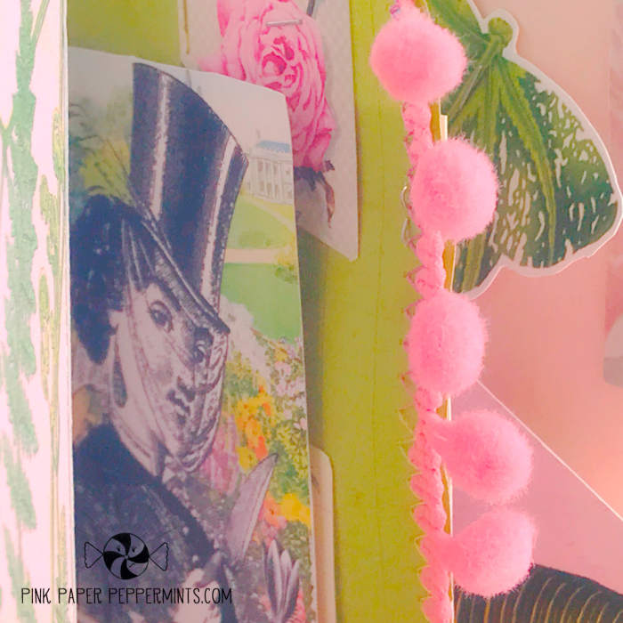 Vintage_plant_lady_printable_B6_traveler's_notebook_insert