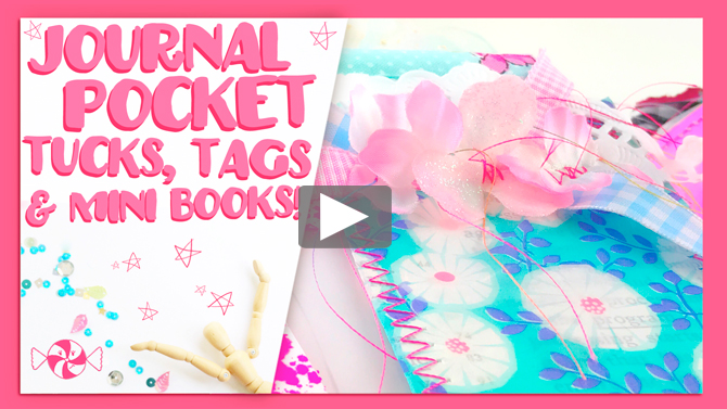 Little Golden Book Junk Journal, tags, tucks and embellishments!