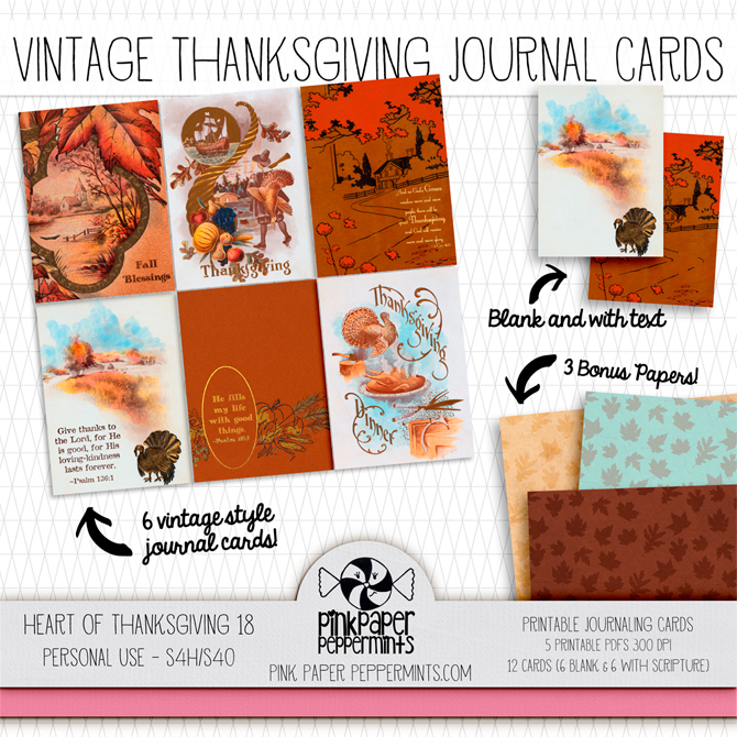 Printable Bible Journaling Traveler's Notebook and Junk Journal  kit!