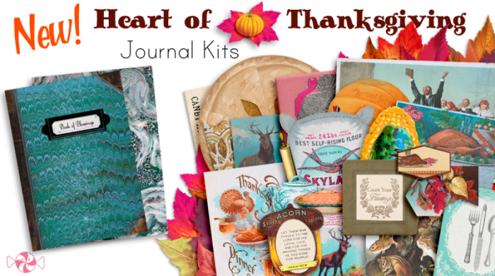 Printable Thanksgiving Traveler's Notebook kit!